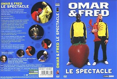 Omar Et Fred Le Spectacle Dvd Zone 2 Version Française.
