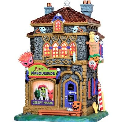 NEW Lemax Spooky MIMI'S MASQUERADE #35497, Spooky Town Halloween