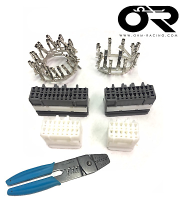 OEM ECU Connectors (2G DSM/EVO 8) + Hozan crimp tool