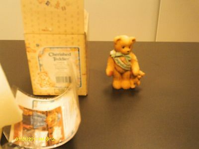 Cherished Teddies ` CONGRATULATIONS  This calls for a celebration   1997