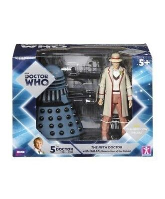 Doctor Dr Who 50th Anniversary Twin Pack 5th Figure Remembrance of the Daleks