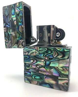 Zippo Custom Mother of Pearl Masterpiece - Hand Made! - One of a Kind!