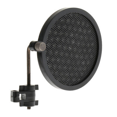 Microphone Wind Screen Pop Filter Mic Wind Mask Net For Recording Singing