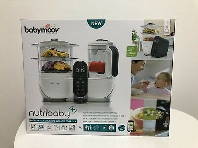 Babymoov Nutribaby+ Processor food for Baby steamed and blender 6 In 1