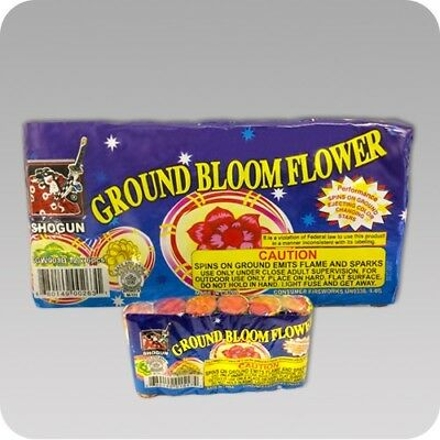 Shogun Ground Bloom Flowers Labels 12/6  For 72 Labels Sold Pre eBay Rules