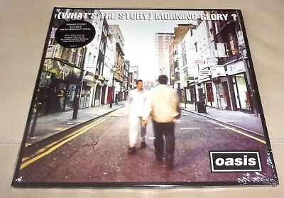 Oasis : What's the Story Morning Glory Sealed LP (Remastered)