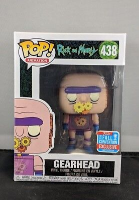Funko Pop! Animation: Rick & Morty - Gearhead (2018 Fall Convention Exclusive)