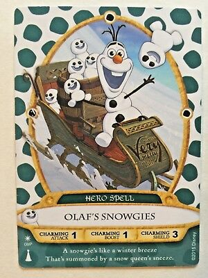 Sorcerers Of The Magic Kingdom Card 08P Olaf's Snowgies Christmas Party