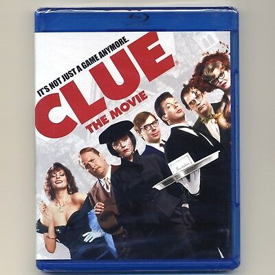 Clue The Movie 1985 PG comedy mystery, new Blu-ray, Tim Curry, Christopher Lloyd