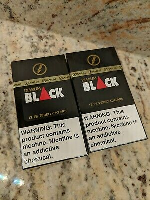 Djarum Black Clove NEW 2 Pack (2x12) Cigars USA SELLER FREE SHIPPING FAST