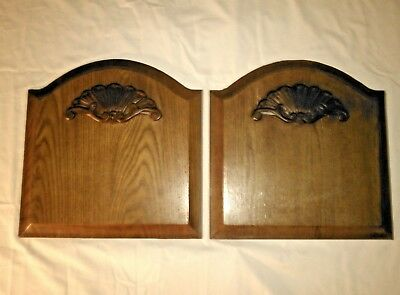 Vintage French Style Art Deco Cabinet or Door Panels (2)