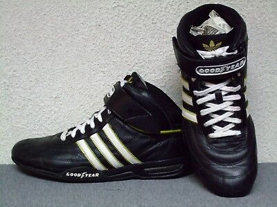 best service c4e9a 685cd Mens Team Adidas Adi Racer Low Goodyear black racing driving shoes sneakers  Sz10