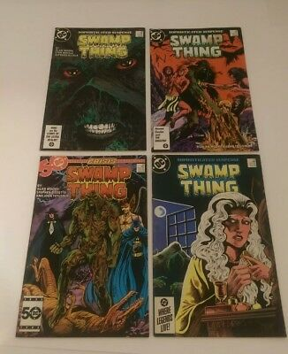 SWAMP THING Comic Lot 4 Issues