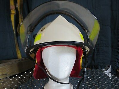 Morning Pride 1988 Lite Force Firefighting Helmet Clean and Complete