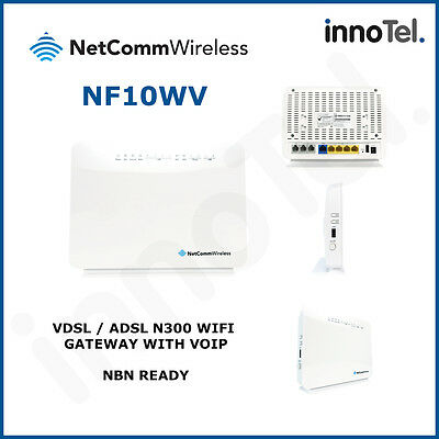 Netcomm NF10WV NBN Ready WiFi VoIP ADSL/VDSL Wireless Modem Router