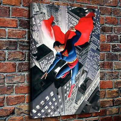 """12""""x16""""Superman HD Canvas print Painting Home Decor Picture Wall art Picture"""