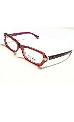 04e15adde0f COACH HC 6005 (Marjorie ) Col 5032 burgundy 53 17 135MM AUTHENTIC RX  EYEGLASSES