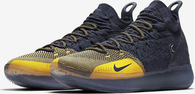 1b640cd50bb80 NEW Nike KD 11 COLLEGE UNIVERSITY GOLD Yellow Mens Shoes AO2604-400 Size  11.5