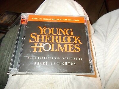 Young Sherlock Holmes 2 Disc Cd Complete Original Motion Picture Soundtrack