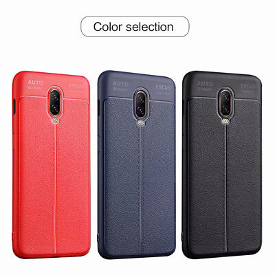 For OnePlus 6T 6 5T 5 Shockproof Slim Soft Silicone TPU Matte Back Case Cover