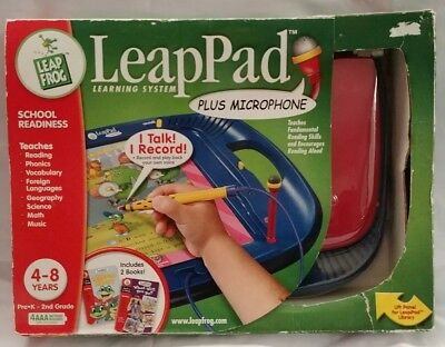 Leap Frog Leap Pad Children's Reading Learning System with Microphone Game Toy