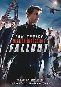 Mission Impossible Fallout  (DVD) REGION 1 DVD (USA) Brand New and Sealed