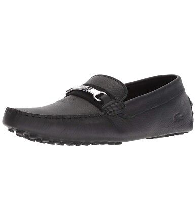 ca3fc8961a594 Lacoste Ansted 318 2 U Cam Leather Black 7-36Cam008002H Casual Men Shoes S-B