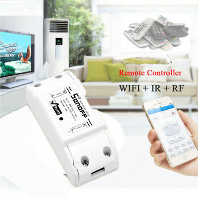 Home Hot Durable WiFi Controller Module Socket Wireless Smart Switch ABS Shell