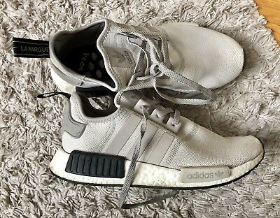 ADIDAS NMD R1 BOOST Schuhe Sneaker Beige Black Trainers in d.G. 42 23 TOP!