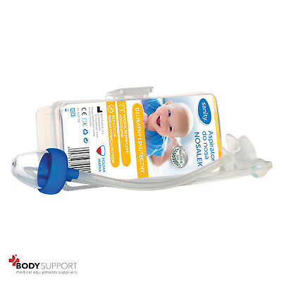 Nasal Aspirator baby from birth Vac Vacuum Suction Nose cleaner infant newborn