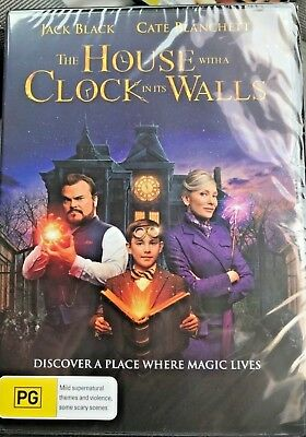 The House With A Clock In It's Walls =2018 Genuine Release R4 Dvd New Sealed Its