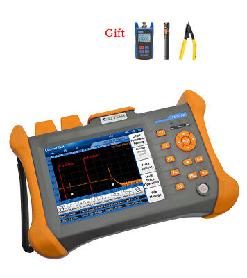 """5.6"""" touch screen 100km SM OTDR 1310/1550nm Optical Time Domain Reflectometer"""