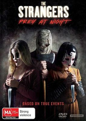 The Strangers 2 = Prey At Night -2018- Genuine Aust Release R4 Dvd New Sealed