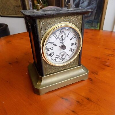 Musical Antique German CARRIAGE CLOCK
