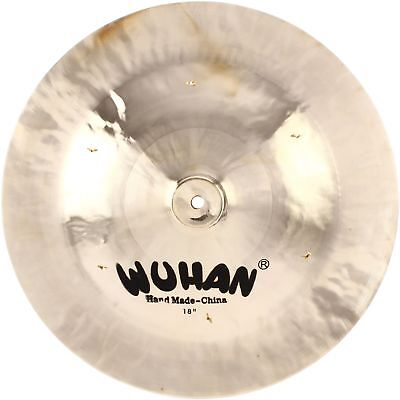 """Wuhan China Cymbal - 18"""" with Rivets"""