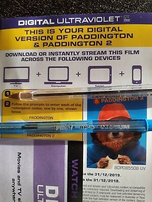DIGITAL HD VERSION UV Code ONLY- PADDINGTON 2  - NO DISCs IN MAIL