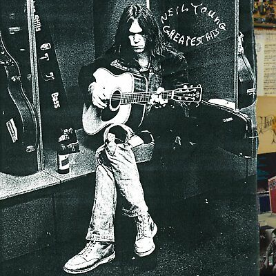 Neil Young Greatest Hits Reprise Records Folk Country Rock Discs 2 Audio CD NEW