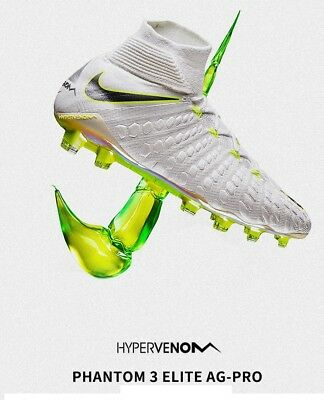 newest 9be0c 67f8d NIKE HYPERVENOM 3 Elite Dynamic Df Ag-Pro (Aj3819 107) Football Uk 10 Eu 45