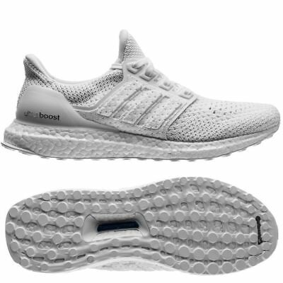 65484d5ab1f91 ADIDAS MENS ULTRA Boost Clima White BY8888 Sports Gym Shoes Trainers ...