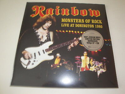 Rainbow: Monsters of Rock Live at Donington 1980 Vinyl 2 LP+CD