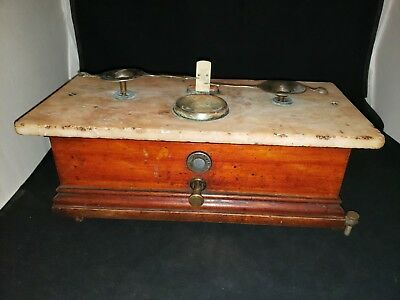 Antique Henry Troemner Apothecary Scale N.Y.C.
