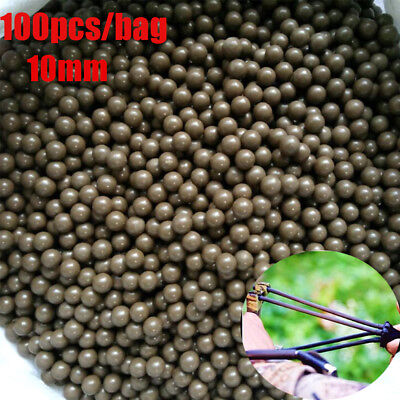 Hunting Ammo  10mm Hot Replacement Mud ball slingshot Balls shooting Catapult