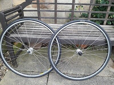 Shimano 105/600 On Mavic Open 4 CD road Wheels Nutrack Tyres