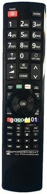 Replacement PANASONIC TV Remote Control N2QAYB000832 NO PROGRAMMING REQUIRED NEW