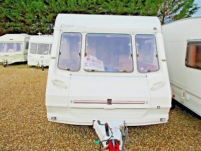 abbey oxford 4 berth caravan 97 nice condition