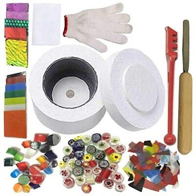 Professional Microwave Kiln Kit Set - for DIY Jewelry Glass Fusing Tools 12