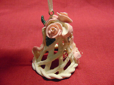 Vintage Victorian Style Bell Christmas Tree Ornament