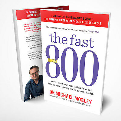 Fast 800: Diet Book by Michael Mosley (Paperback)