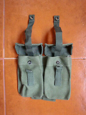 Portuguese Army M64 Webbing Mag Pouches Early Model Africa War original