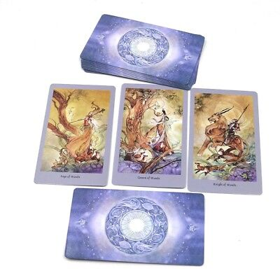 Full English Shadow Scapes 78 Tarot Cards Deck Read Future Board Game for Women
